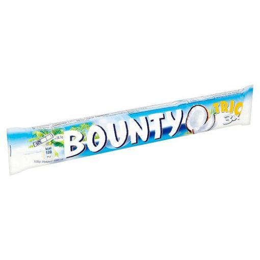 Bounty Trio tejcsokoládé 85g