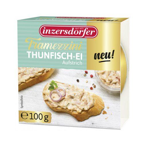 Inzersdorfer Tramezzini tonhalas-tojásos szendvicskrém 100g