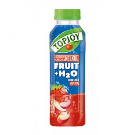 Topjoy fruit + H2O eper 400ml