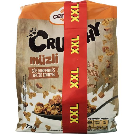Cerbona Crunchy müzli sós-karamellás 350g