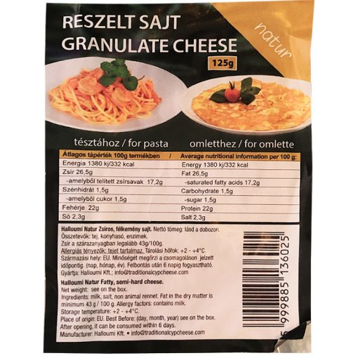 Athena reszelt sajt natúr 125g