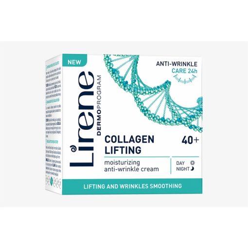 Lirene kollagén lifting hidratáló ránctalanító krém 40+ 50ml