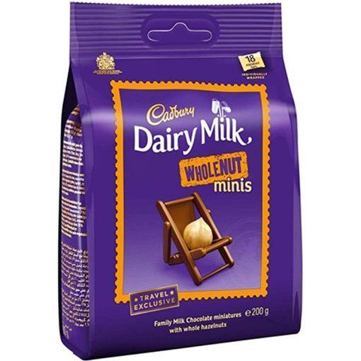 Cadbury Wholenut minis egészmogyorós 200g