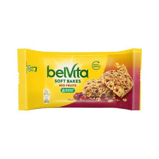 Belvita gabonás keksz piros gyümölcsös 50g