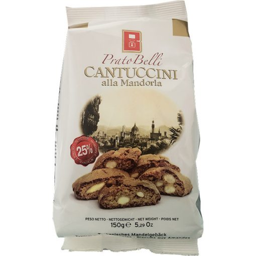 PratoBelli Cantuccini mandulás keksz 150g