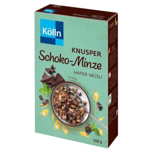 Kölln ropogós müzli csokoládé-menta  500g