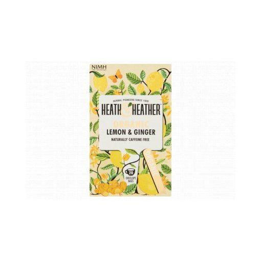 London H&H bio tea citrom-gyömbér 30g 20filter