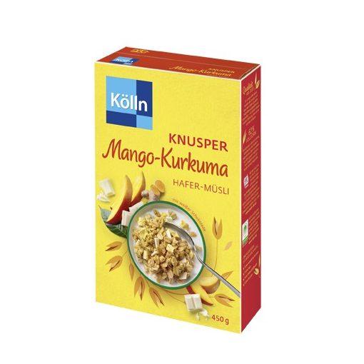 Kölln ropogós müzli mangó-kurkuma 450g