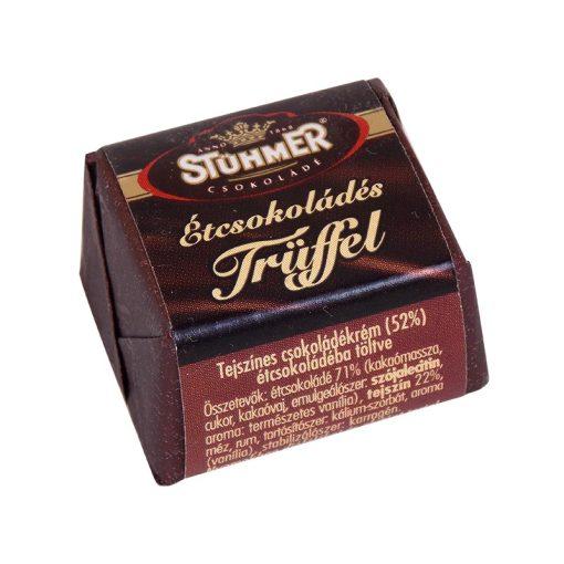 Stühmer Trüffel kocka étcsokoládé 13 g