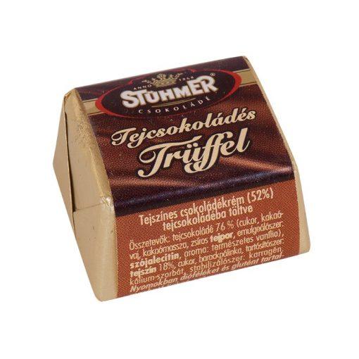 Stühmer Trüffel kocka tejcsokoládé 13 g