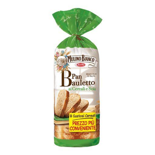 Barilla Mulino Bianco többgabonás és szójás kenyér 400g
