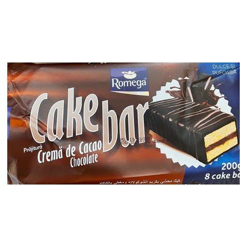 Romega cake bar piskóta csokoládés töltelékkel 200g