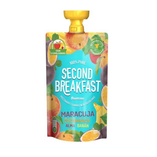 Second Breakfast gyümölcspüré maracuja-őszi-alma-banán 100g