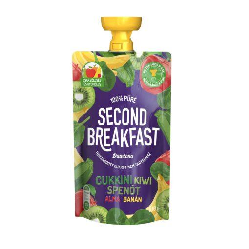 Second Breakfast gyümölcspüré cukkini-kivi-spenót-alma-banán 100g