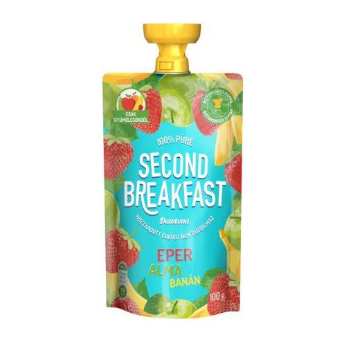 Second Breakfast gyümölcspüré eper-alma-banán 100g