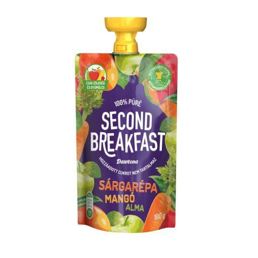 Second Breakfast gyümölcspüré sárgarépa-mangó-alma 100g