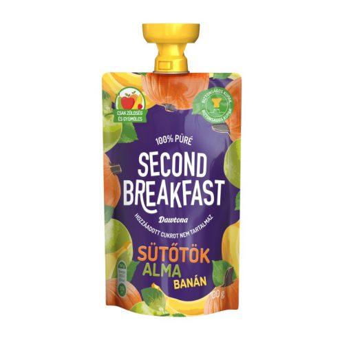 Second Breakfast gyümölcspüré sütőtök-alma-banán 100g