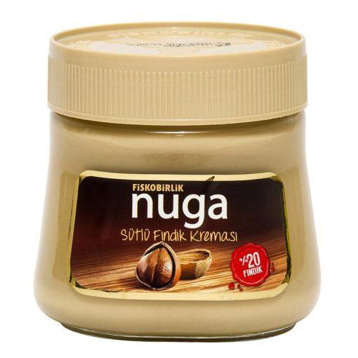 Nuga tejes mogyorókrém 20% mogyoró tartalommal 350g
