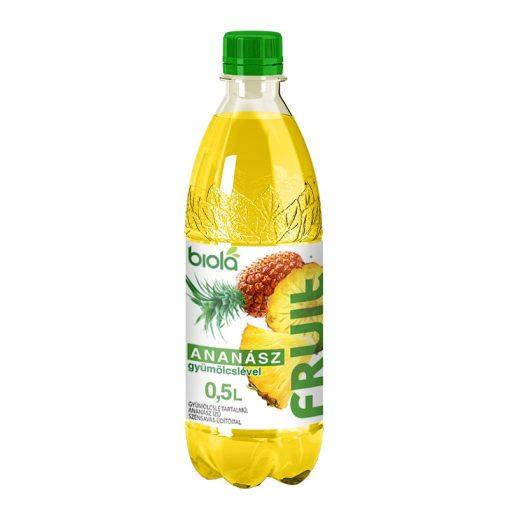 Biola ananász ízű szénsavas üdítőital 500ml