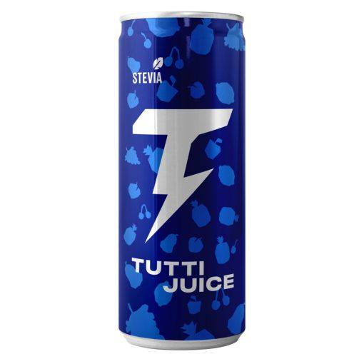 Tutti Juice szénsavas üdítő sztíviával 250ml