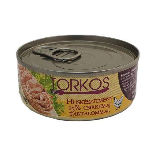 Torkos húskészítmény 15% csirkemáj tartalommal 100g