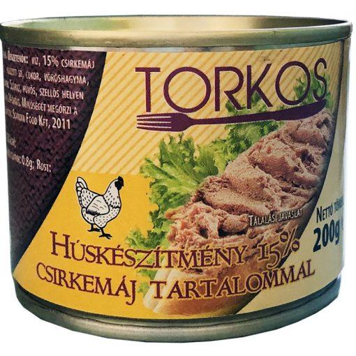 Torkos húskészítmény 15% csirkemáj tartalommal 200g