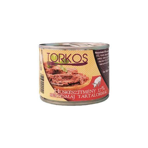 Torkos húskészítmény 17% sertésmáj tartalommal 200g