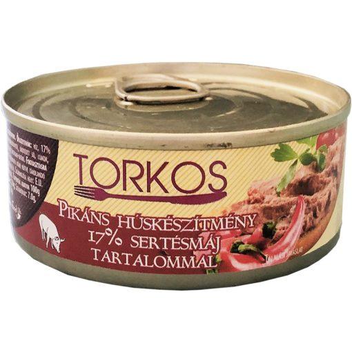 Torkos húskészítmény 17% sertésmáj tartalommal 100g