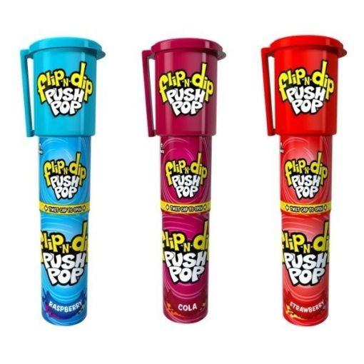 Top Flip N Dip Push Pop nyalóka 25g