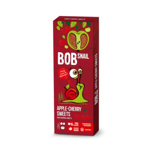 Bob-Snail alma-meggy gyümölcs rolls 30g