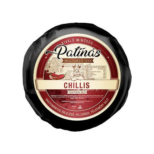 Patinás trappista sajt chilis 1540g