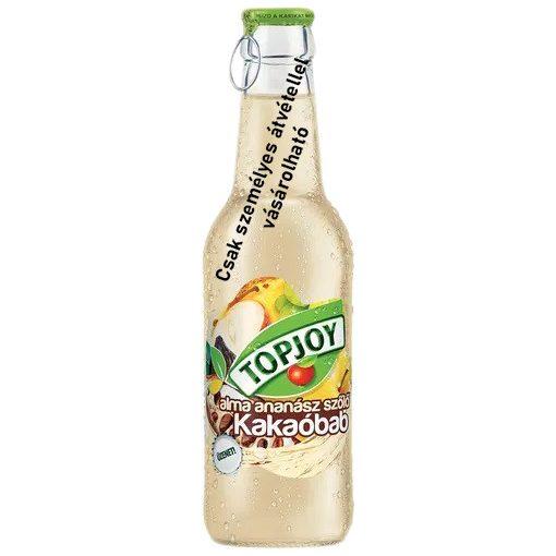 Topjoy üveges alma, ananász, szőlő, kakaóbab ital 250ml