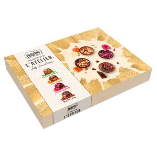 Nestlé l'Atelier vegyes csokoládé praliné 186 g