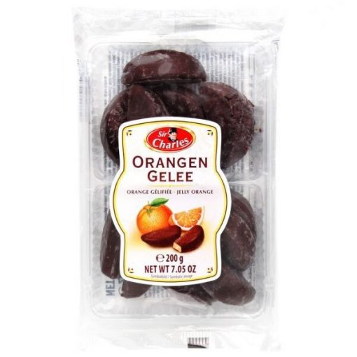 Sir Charles narancsos zselé étcsokoládéba mártva 200g