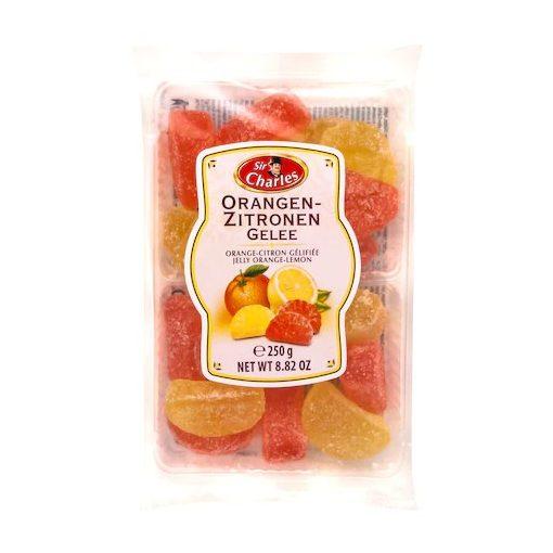 Sir Charles narancsos-citrusos zselé 200g