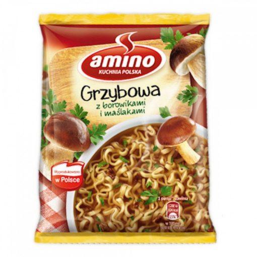 Amino instant gombás tésztás leves 57g