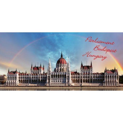 "FantasTick svájci tejcsokoládé Budapest 3D ""Parlament"" 100g"