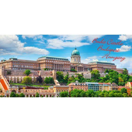 "FantasTick svájci tejcsokoládé Budapest 3D ""Budai vár"" 100g"