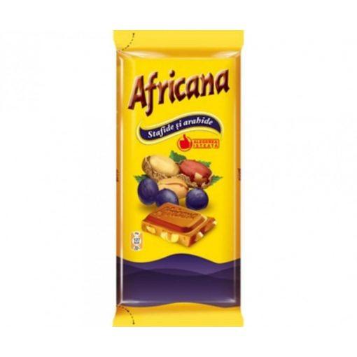 Africana mazsolás-mogyorós csokoládé 90g