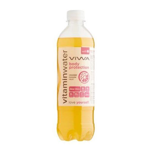 Viwa Body Protection szénsavmentes üdítőital narancs maracuja 500 ml