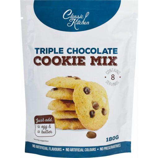 Classic Kitchen tripla csokis cookie mix 180g