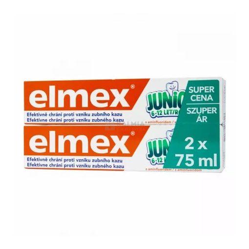 Elmex Duopack gyermek fogkrém fogszuvasodás ellen 6-12 éves korig 2x75ml