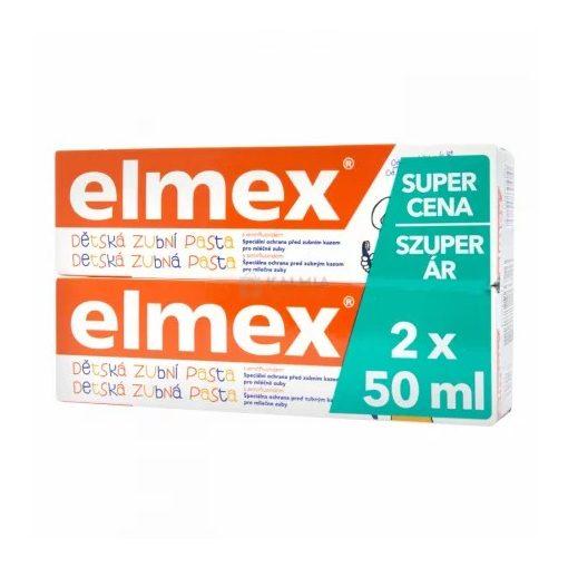Elmex Duopack gyerek fogkrém 2x50ml