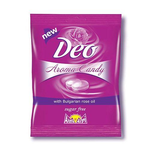 Alpi Deo Candy cukormentes bonbon bulgár rózsaolajjal töltve 60g