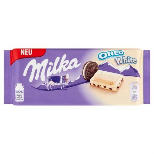 Milka alpesi tejcsokoládé Oreo White 100g
