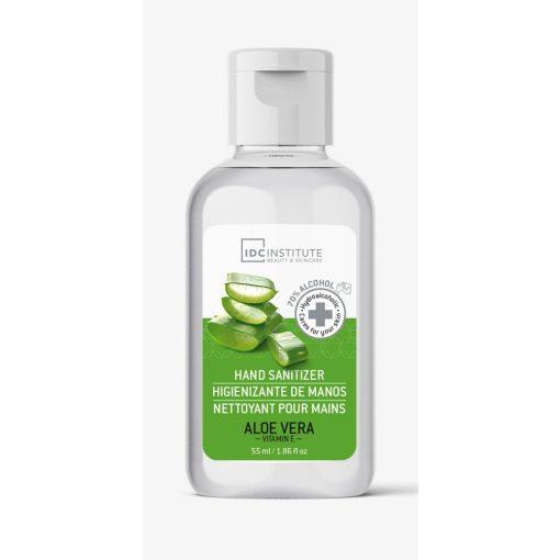 IDC Institute kézfertőtlenítő gél aloe verával és E-vitaminnal 55ml
