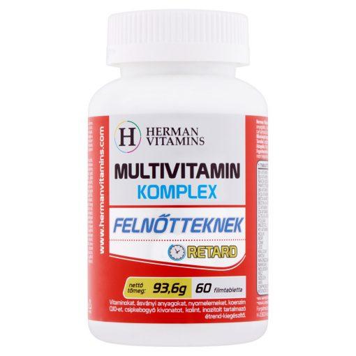 Herman Multivitamin komplex retard felnőtt filmtabletta 60db