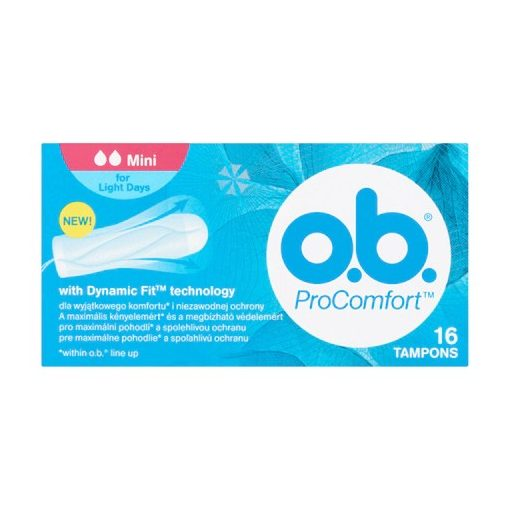 O.B. ProComfort tampon mini 16db