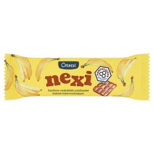 Cornexi Nexi müzliszelet banános kakaós talppal 25g