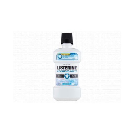 Listerine szájvíz Advanced White mild taste 500ml